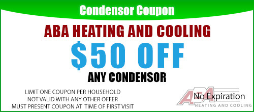 Condenser Repair Coupon