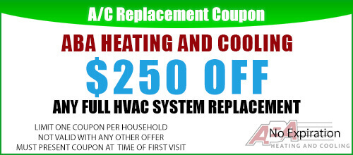New AC Unit Replacement Coupon