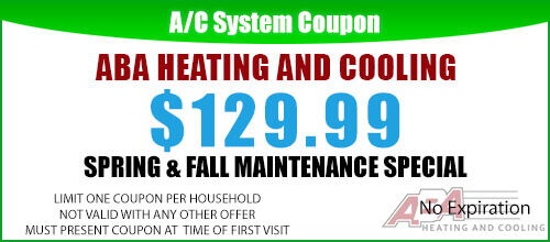 Spring and Fall Maintenance Coupon
